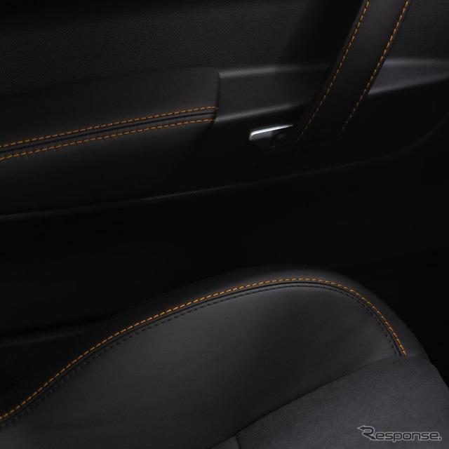 アルピーヌの新型車のティザーイメージ