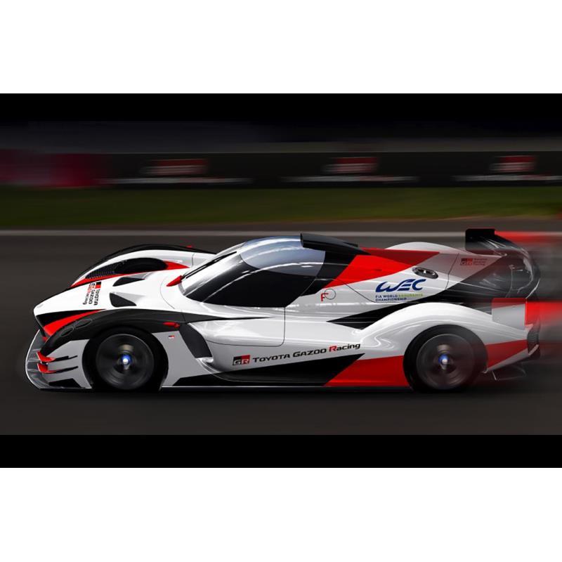 市販型ハイパーカー「GRスーパースポーツ」(仮称)をベースとする、WEC用ニューマシンのイメージ。
