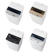 ハイアール、洗いから脱水まで最短10分の「お急ぎコース」を搭載した全自動洗濯機