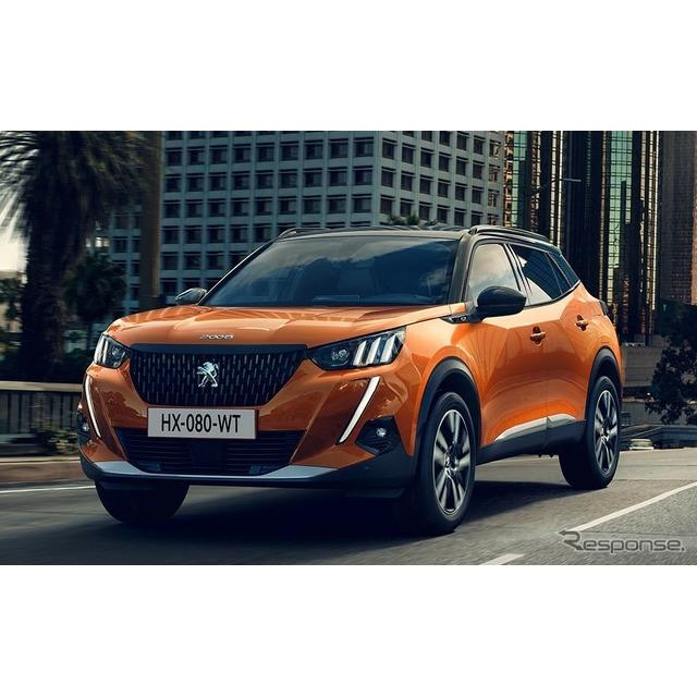 プジョーは6月19日、新型『2008』(Peugeot 2008)を欧州で発表した。  プジョー2008は2013年春、スイス...