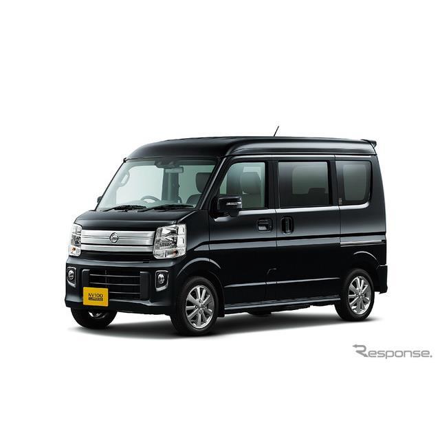 日産自動車は、セミキャブオーバー型の軽ライトバン『NV100クリッパー』および軽ワンボックス『NV100クリッ...