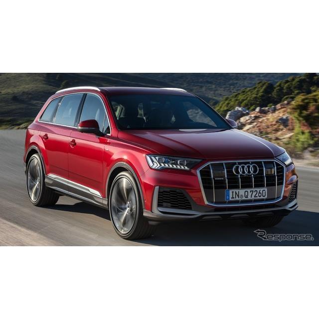 アウディは6月26日、SUVの『Q7』(Audi Q7)の改良新型を欧州で発表した。  現行Q7は2世代目モデルだ。20...