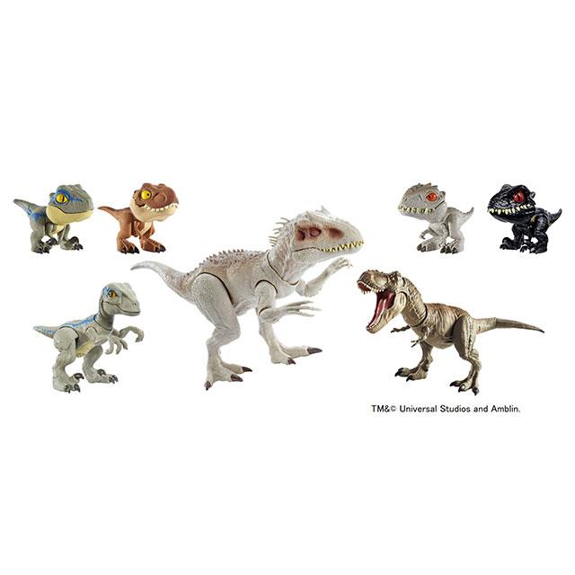 「ジュラシック・ワールド」関連の恐竜フィギュア