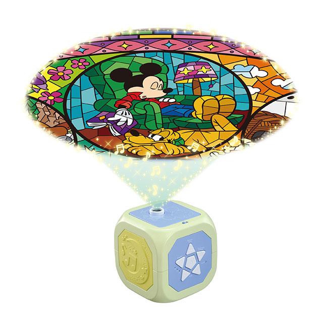 天井いっぱい!おやすみホームシアターぐっすりメロディ ディズニーキャラクター