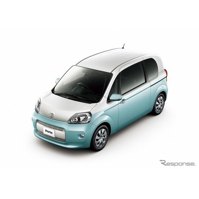 トヨタ自動車は、トールワゴン『ポルテ』および『スペイド』を一部改良するとともに、両モデルに特別仕様車...