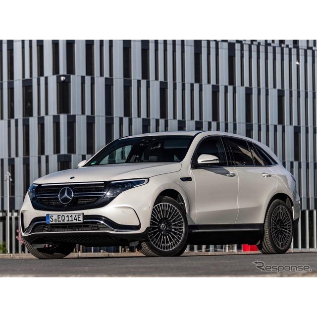 メルセデス・ベンツ日本は4日、電気駆動SUVの新型車、『EQC』を日本市場で発表した。EQCは、日本におけるメ...