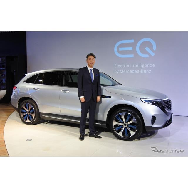 メルセデス・ベンツ日本は電気自動車『EQC』(Mercedes-Benz EQC)の商談予約受付を7月18日からオンライン...