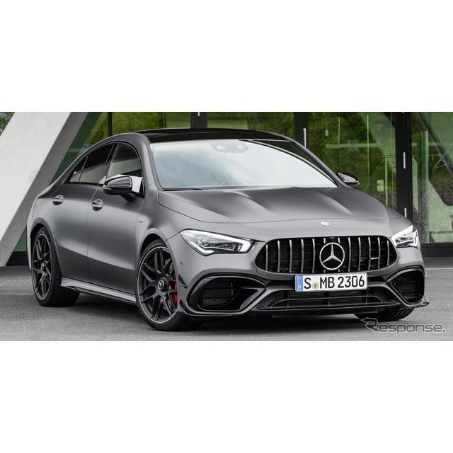 メルセデスベンツの高性能車部門、メルセデスAMGは7月4日、『CLA45 4MATIC+』(Mercedes-AMG CLA 45 4MATIC...