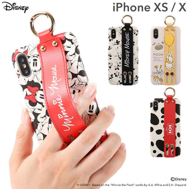 ディズニーデザインの「iPhone XS/X用ケース」、ミッキー/ミニーなど全4種