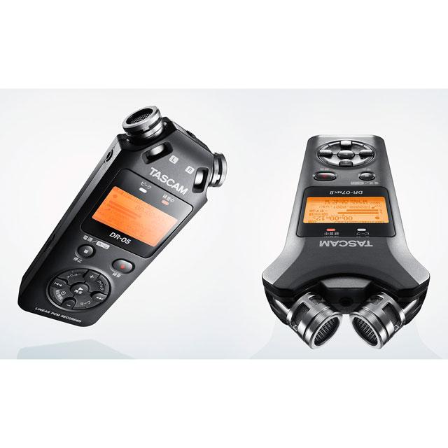 TASCAM、タイマー録音機能を追加したICレコーダー「DR-05 VER3」など
