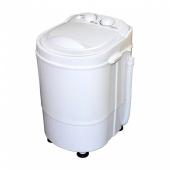 「ROOMMATE 洗いブラシ付きポータブル洗濯機 ブラシ de アライ RM-85MK」