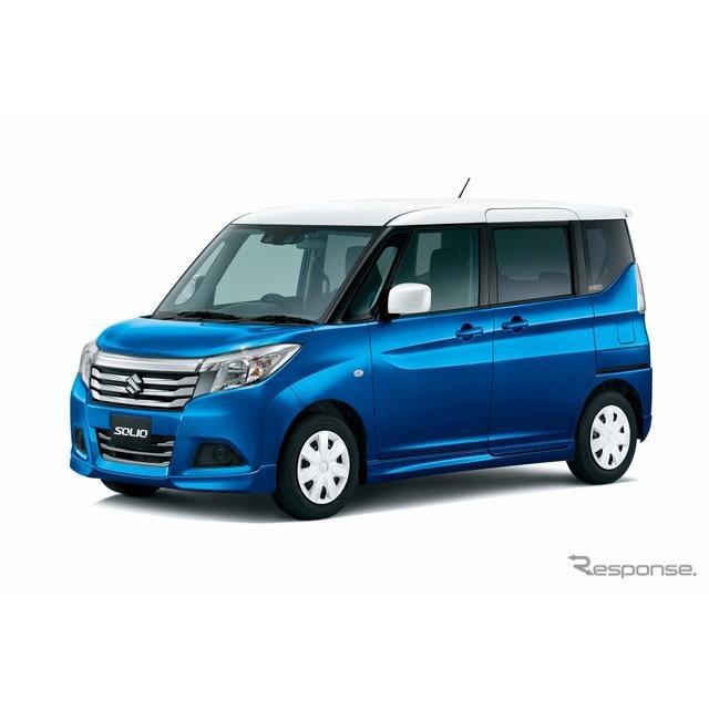 スズキは、小型乗用車『ソリオ』に、快適装備を充実させながらリーズナブルな価格設定とした特別仕様車「GX...