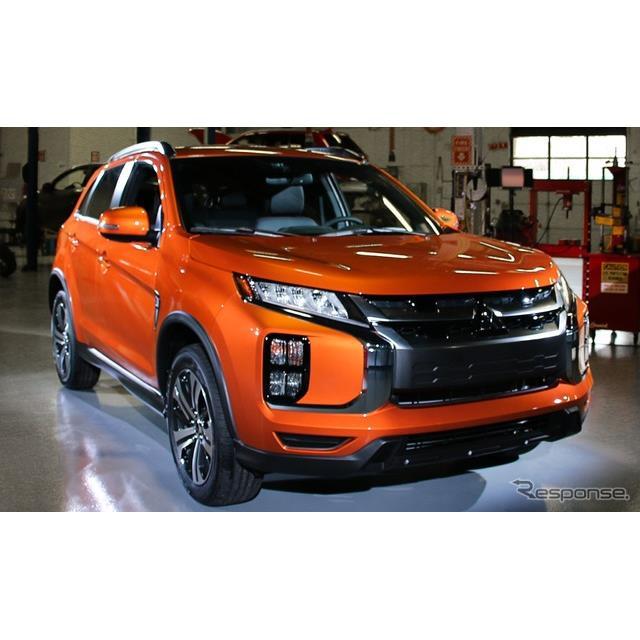 三菱自動車(Mitsubishi Motors)の米国部門は、『アウトランダースポーツ』(日本名:『RVR』に相当)の20...