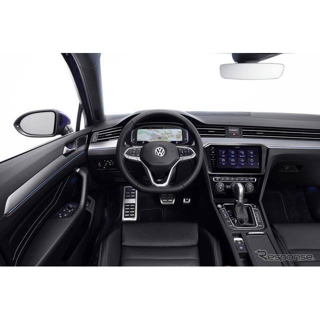 フォルクスワーゲンは7月9日、改良新型『パサート』(Volkswagen Passat)に最新のコネクティビティを搭載...