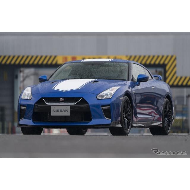 日産自動車の米国部門は、『GT-R』(Nissan GT-R)の2020年モデルに「50thアニバーサリーエディション」を...