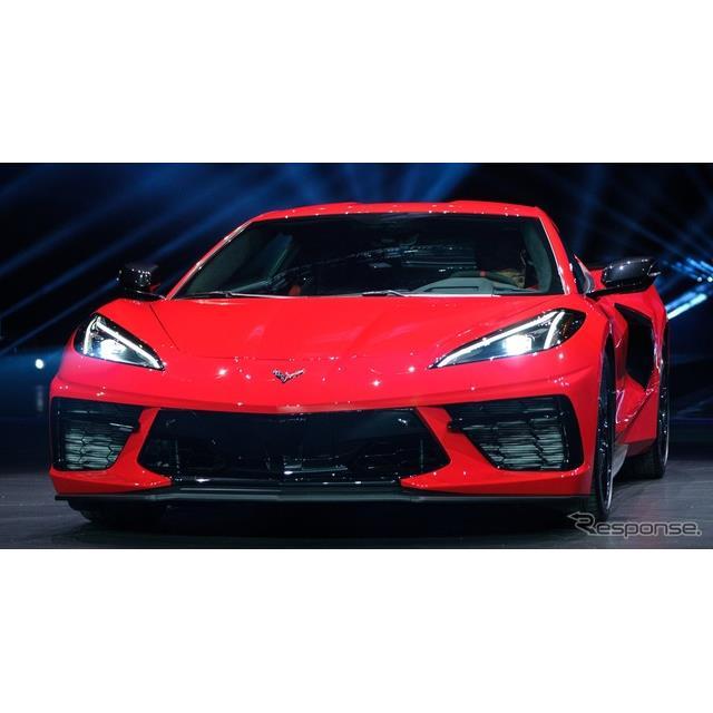 GMのシボレーブランドは7月18日、新型『コルベット・スティングレイ』(Chevrolet Corvette Stingray)を米...