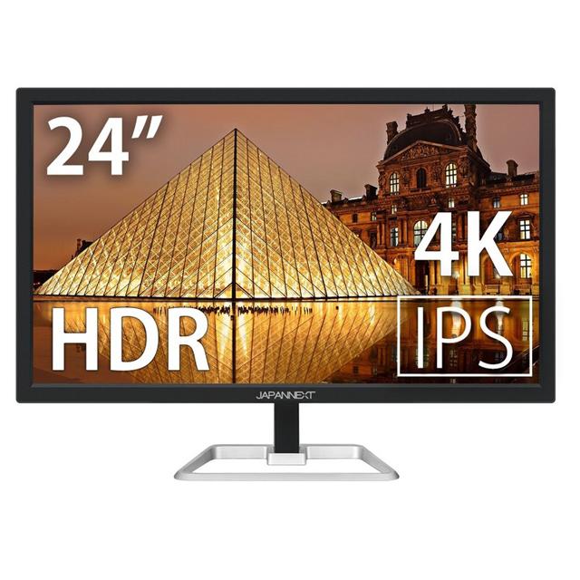 JAPANNEXT、UltraHD対応24型ワイド液晶ディスプレイ「JN-IPS244UHDR」