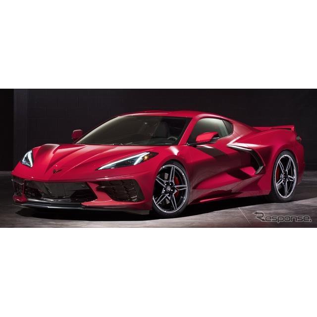 GMのシボレーブランドは7月19日、新型『コルベット・スティングレイ』(Chevrolet Corvette Stingray)の予...