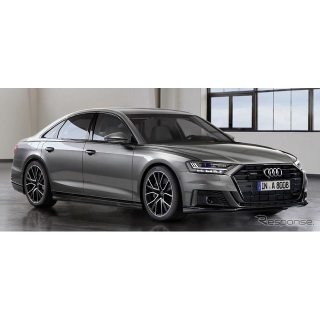 アウディは、新型『A8』(Audi A8)の欧州仕様車に、「AIアクティブサスペンション」を2019年8月から設定す...