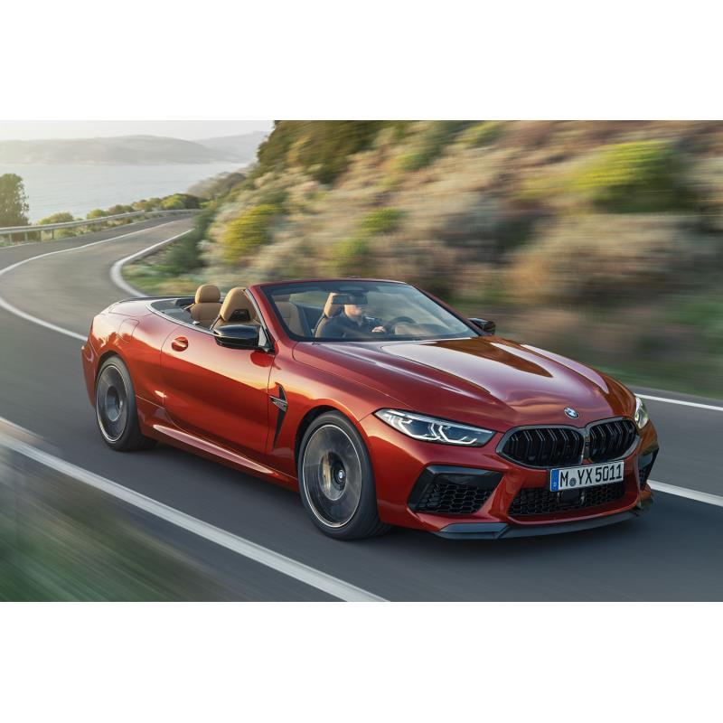 BMWジャパンは2019年7月24日、「BMW Mモデル」のフラッグシップクーペ「M8」をベースとしたオープントップ...