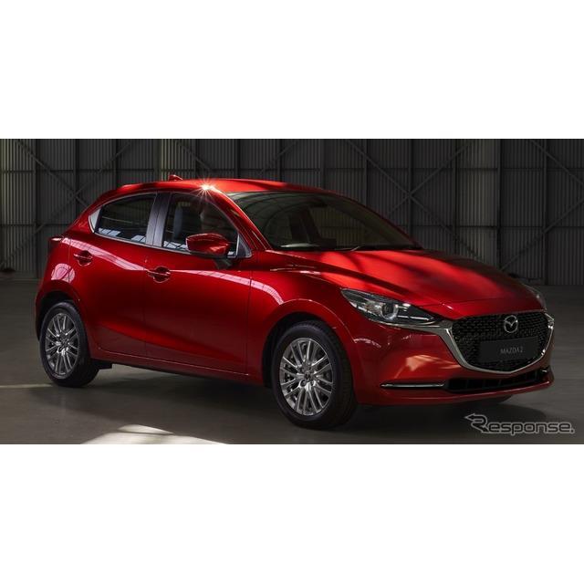 マツダの欧州部門は、『マツダ2』(Mazda2)の改良新型を2020年初頭、欧州市場で発売すると発表した。  ...