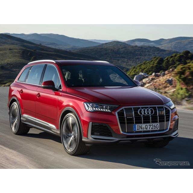 アウディは7月23日、『Q7』(Audi Q7)の改良新型を、9月半ばに欧州市場で発売すると発表した。ドイツ本国...