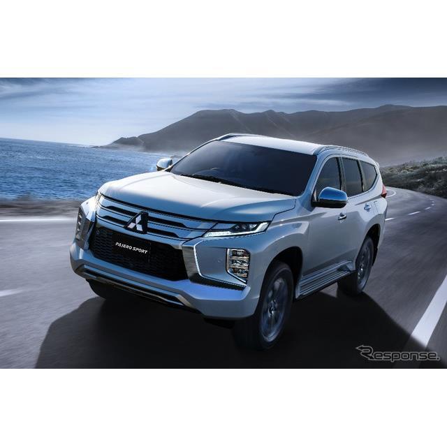 三菱自動車は、ミッドサイズSUVの新型『パジェロスポーツ』を7月25日、タイで世界初披露し、同国での販売を...