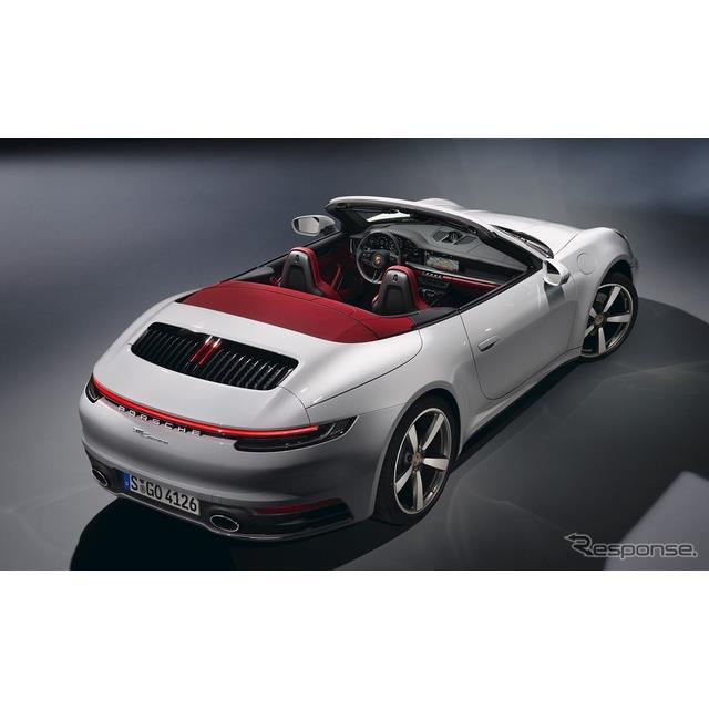 ポルシェは7月30日、新型『911』(Porsche 911)シリーズのベースモデル、新型『911カレラ・クーペ』、新型...