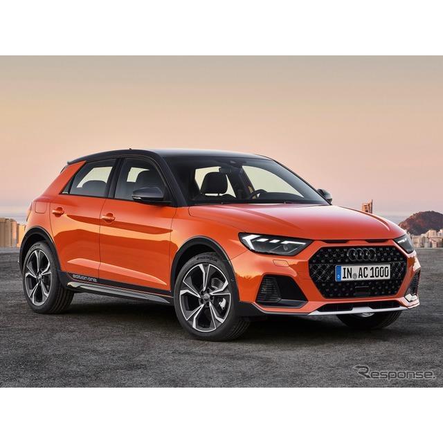アウディは7月29日、新型『A1シティカーバー』(Audi A1 citycarver)を欧州で発表した。  同車は、新型...