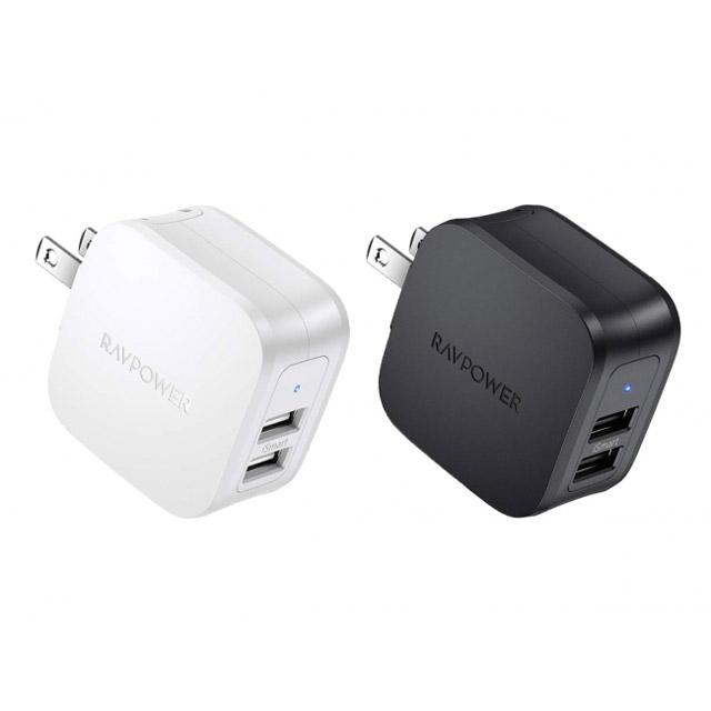 RAVPower、USB Aポートを2つ搭載したコンパクト充電器「RP-PC121」