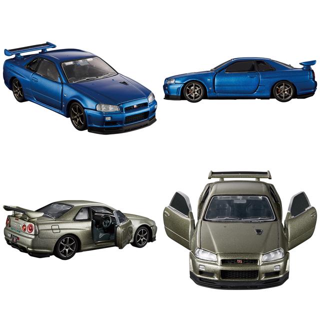 【今月のトミカ】日産「GT-R V specIINur」ベイサイドブルー/ミレニアムジェイドなど