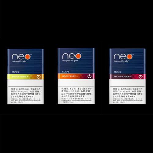 加熱式専用タバコ「neo(ネオ)」夏向けフレーバー3製品