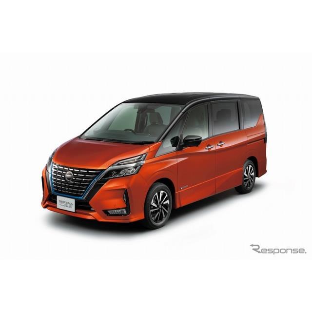 日産自動車はミニバン『セレナ』をマイナーチェンジ、デザインを一新するとともに、先進安全技術の装備を拡...