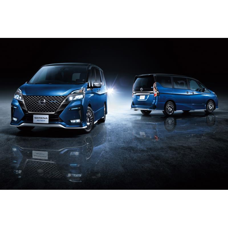 日産の関連会社であるオーテックジャパンは2019年8月1日、ミニバン「セレナ」のマイナーチェンジに合わせ、...