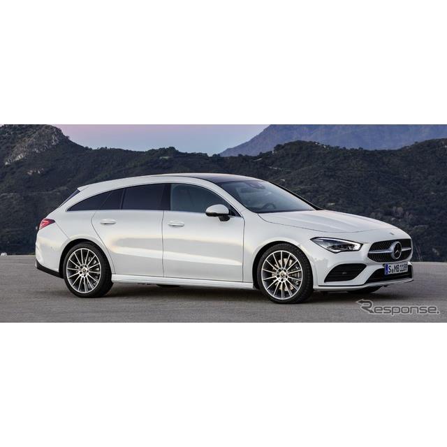 メルセデスベンツは8月1日、新型『CLAシューティングブレーク』(Mercedes-Benz CLA Shooting Brake)を欧...