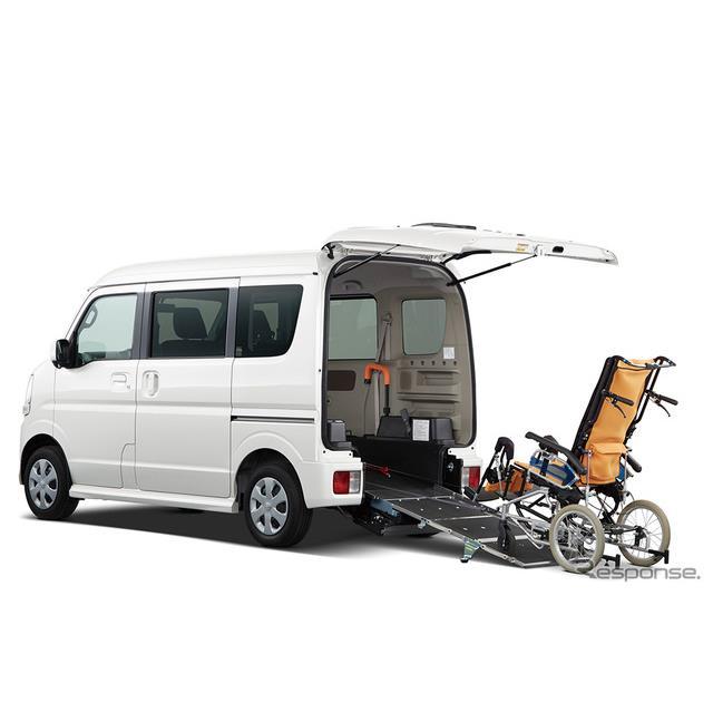 日産自動車の関連会社であるオーテックジャパンは、『NV100クリッパー・リオ』をベースにしたライフケアビ...