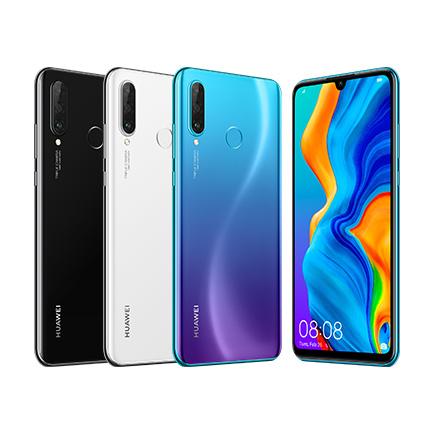 UQ mobile、ファーウェイ製の6.15型「HUAWEI P30 lite」発売日決定