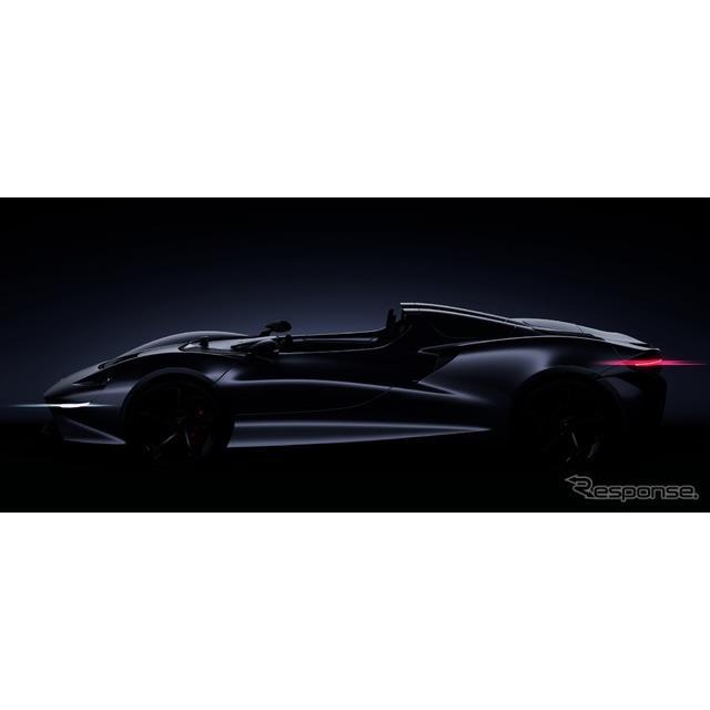 マクラーレンの新型スーパーカーのイメージスケッチ