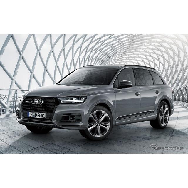 アウディ ジャパンは、SUVモデル『Q7』にスポーティかつシックな特別仕様車「アーバンブラック」を設定し、...