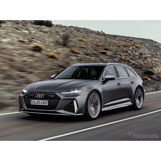 アウディは8月21日、新型『RS6アバント』(Audi RS6 Avant)を欧州で発表した。新型「A6アバント」をベース...
