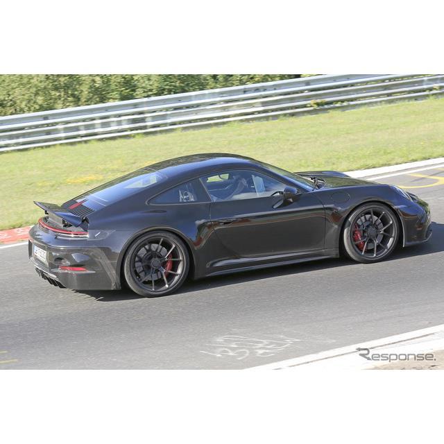 ポルシェ『911』(992世代)に設定される高性能スポーツ、『911 GT3ツーリングパッケージ』開発車両をSpyde...