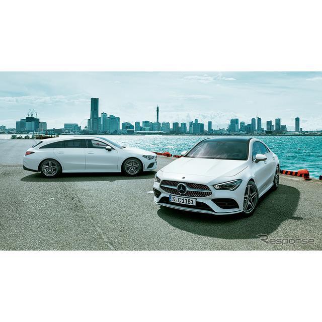 メルセデス・ベンツ日本は、『CLA』(Mercedes-Benz CLA)を6年ぶりに、『CLAシューティングブレーク』を4...