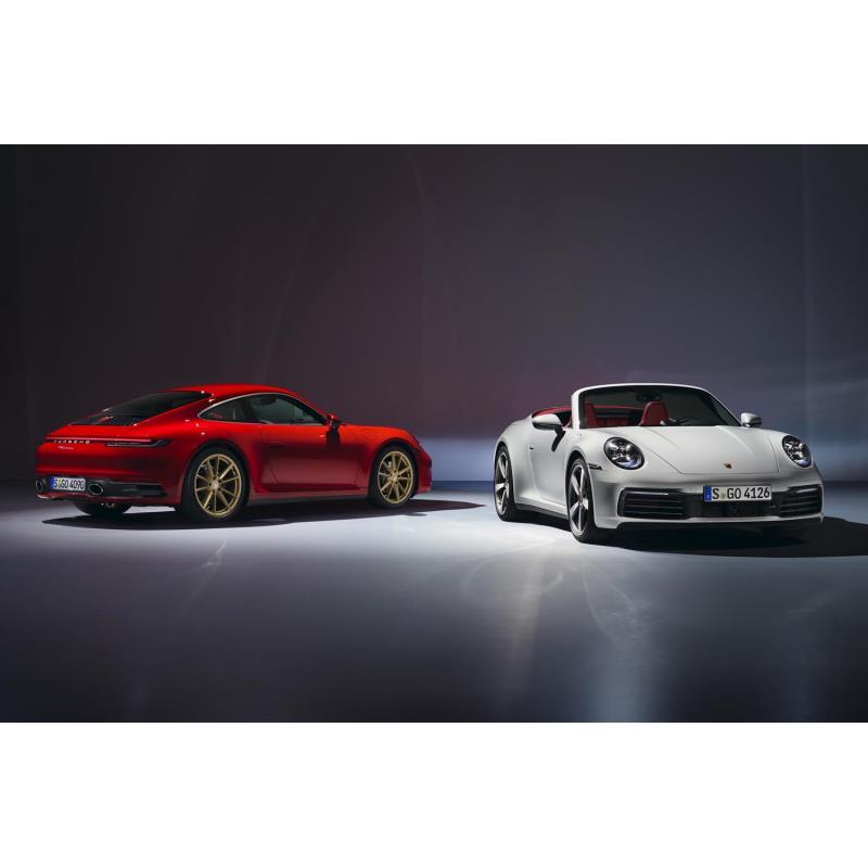 ポルシェ ジャパンは2019年8月30日、新型「911カレラ」および「911カレラ カブリオレ」の価格を発表。同日...