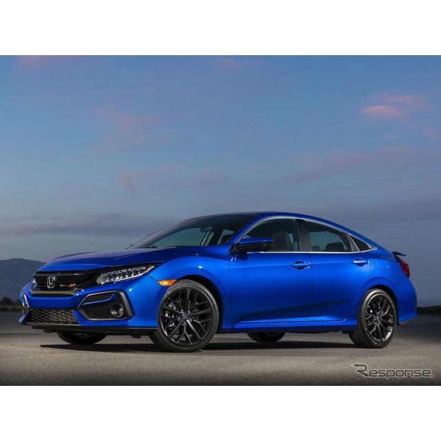 ホンダの米国部門、アメリカンホンダは、『シビック セダン』(Honda Civic Sedan)の高性能グレード、『シ...