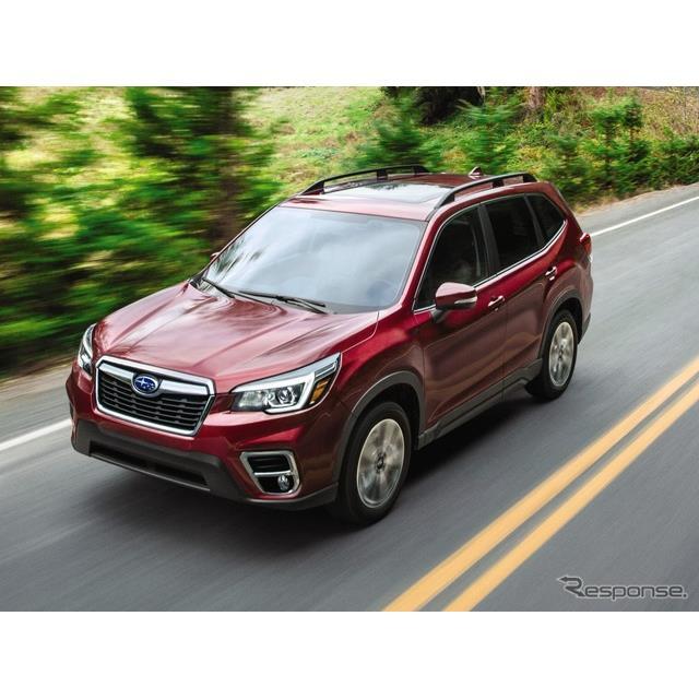 SUBARU(スバル)の米国部門は、『フォレスター』(Subaru Forester)の2020年モデルを今秋、米国市場で発...