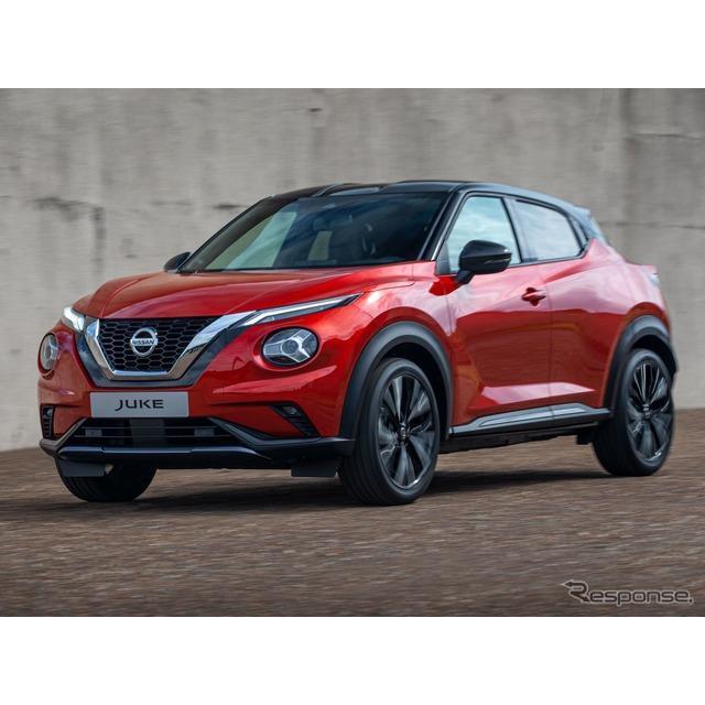 日産自動車の欧州部門は9月4日、新型『ジューク』(Nissan Juke)を発表した。  現行の初代ジュークは201...