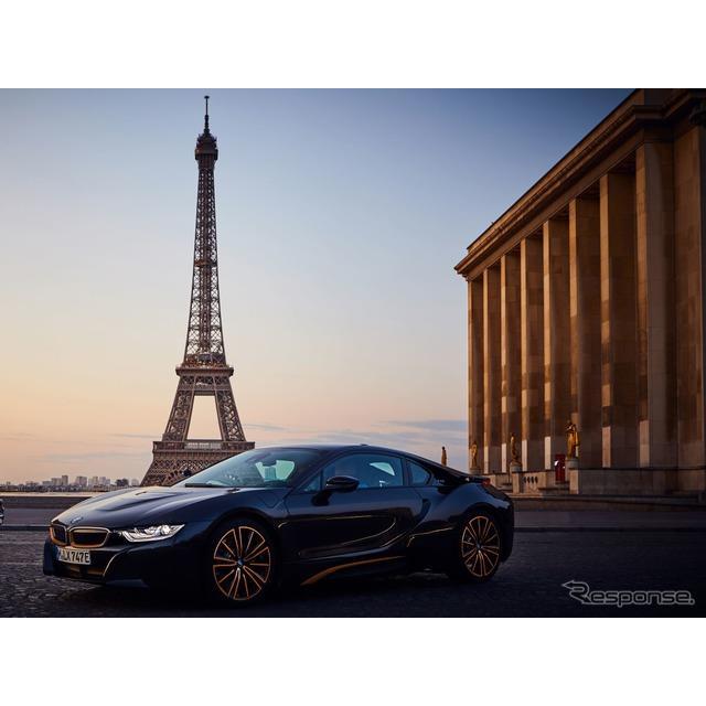BMWグループは9月2日、プラグインハイブリッド(PHV)スポーツカーの『i8クーペ』(BMW i8 Coupe)、『i8ロ...