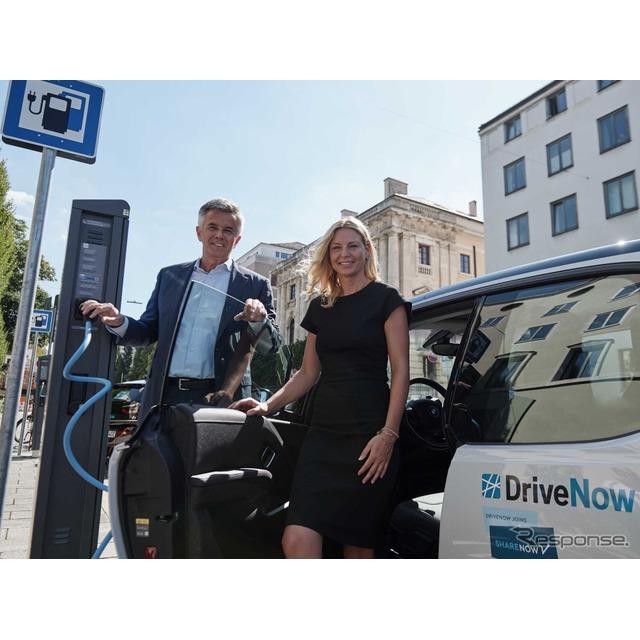 BMWグループ(BMW Group)は9月4日、ドイツ・ミュンヘン市との提携を拡大し、2019年内に200台のEV『i3』を...