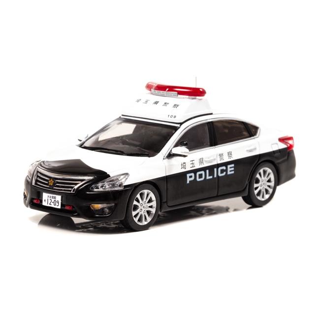 1/43 日産 ティアナ (L33) 2018 埼玉県警察地域部自動車警ら隊車両(109)