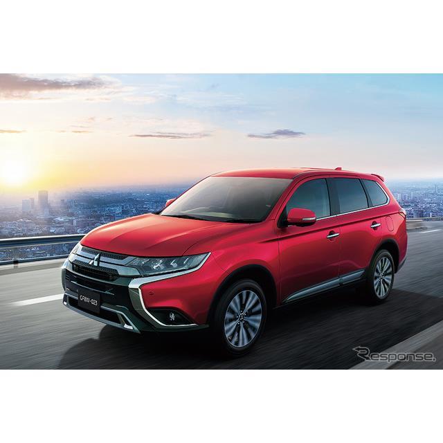 三菱自動車は、ミッドサイズSUV『アウトランダー』に一部改良を施し、9月12日より販売を開始した。  今回...